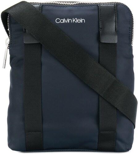 Calvin Klein logo crossbody bag - Blue - Glami.sk 313913cfd12
