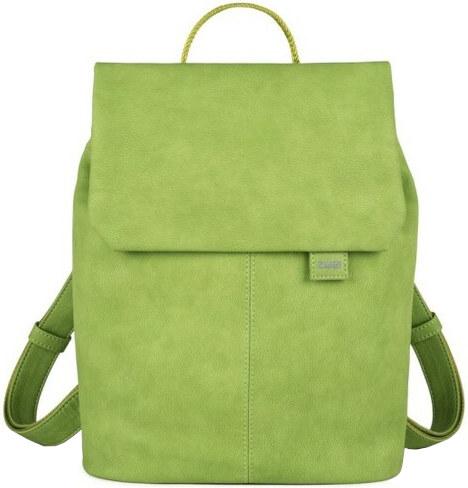 Zwei Dámský batoh MR13-nubuk green - Glami.cz 501d5171cc