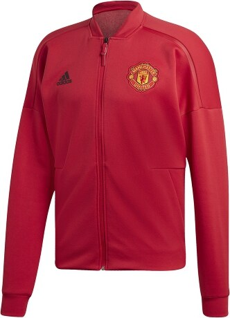 32c8e0c6e2 adidas Manchester United férfi kabát 18 Z.N.E. red - Glami.hu