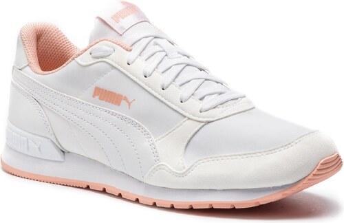 76584573f101 Nové Sneakersy PUMA - St Runner V2 Nl 365278 17 Puma White Peach Bud