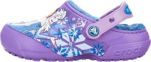 7e6349b7ea7 Crocs Frozen Crocs dětské Fialová - Glami.cz