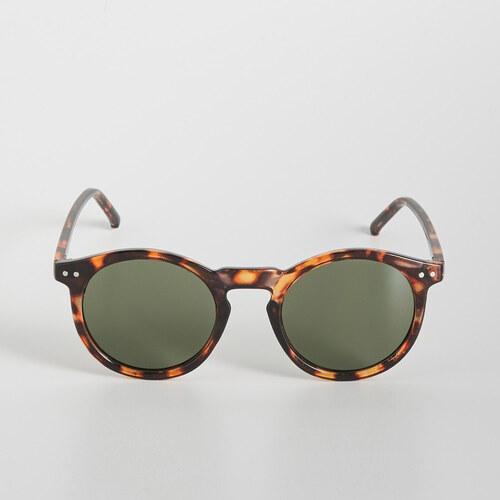 Sinsay - Kerek napszemüveg - Barna - Glami.hu b6b2a2b48f