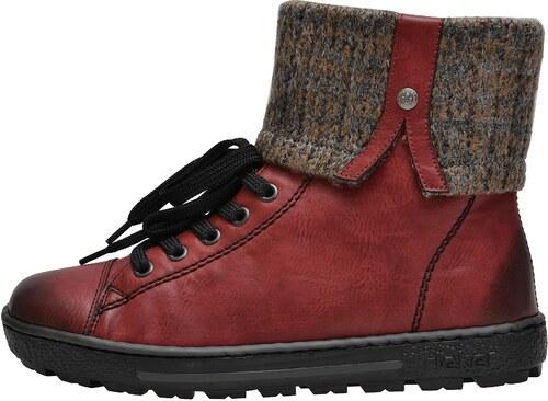 7637b8f601a6 Dámská obuv RIEKER Z8753 35 ROT KOMBI H W 8 Z8753 35 ROT KOMBI H W 8 ...