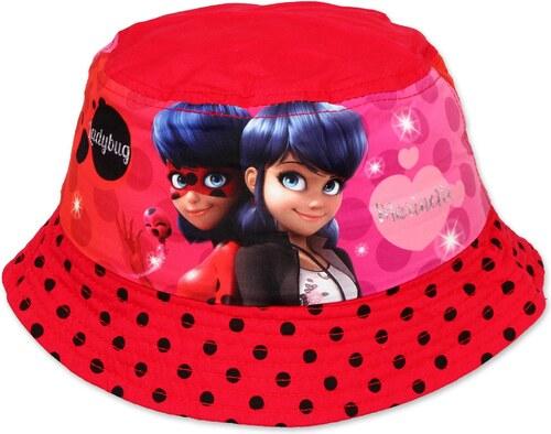 -18% Setino Dívčí klobouček Kouzelná beruška (Ladybug) - červený a8c9b4e8f1