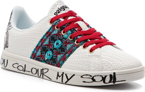 65c0a95932 Sneakersy DESIGUAL - Shoes Cosmic Exotic Tropical 19SS12 1000 - Glami.sk