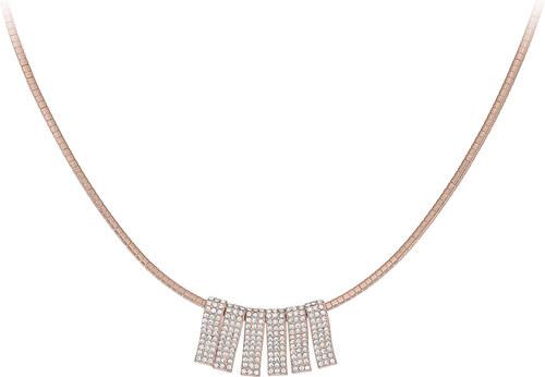 e53b940c7 DÓRA Fashion Náhrdelník Elegance Modern Style Zircon Crystals Rose Gold