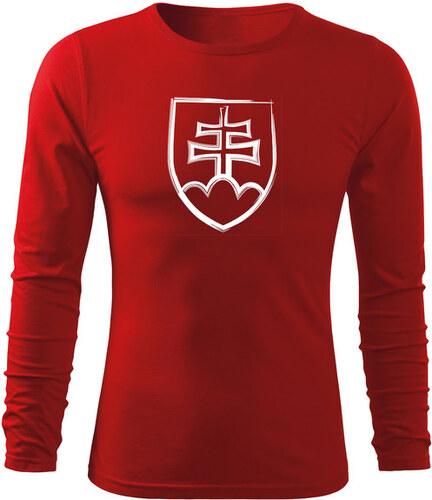 f89d6ee7722e O T Fit-T tričko s dlhým rukávom slovenský znak