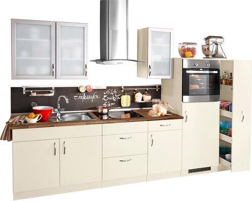 Küchenzeile mit Elektrogeräten »Peru«, Breite 270 cm