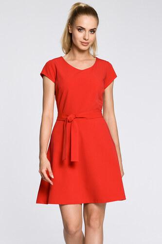 545c645c15d9 Červené šaty MOE 246 - Glami.sk