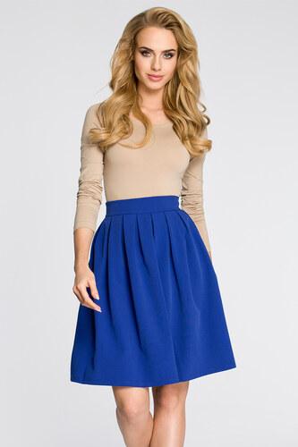 6e601cc70935 Modrá sukňa MOE 237 - Glami.sk