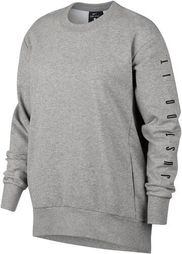 361c03caa7f mikina Nike Graphic Crew Sweatshirt dámská Grey - Glami.cz