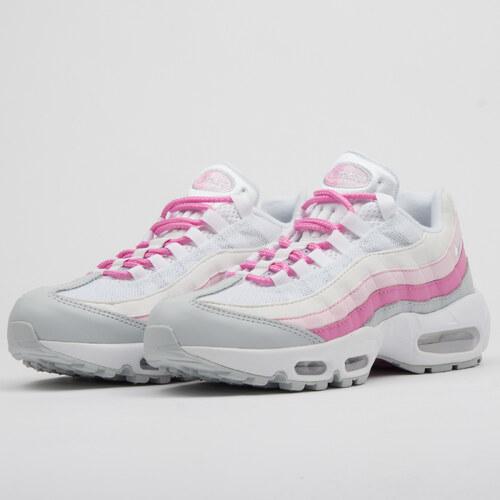 Nike W Air Max 95 Essential white   white - psychic pink - Glami.cz 95abe6246e1