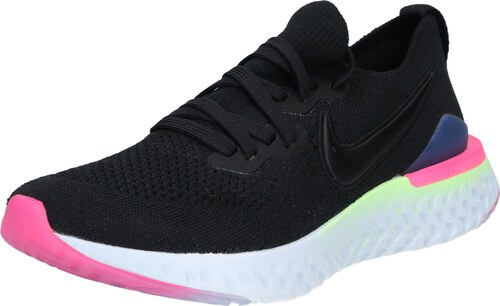 9336b4a4420 NIKE Sportovní boty  Nike Epic React Flyknit 2  pink   černá - Glami.cz