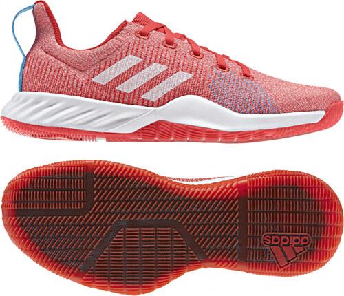 46716f026b Dámske fitness topánky adidas Performance Solar LT TRAINER W (Červená    Biela   Tmavo modrá