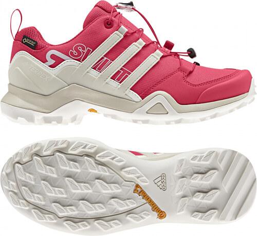 3e4f90a964 Dámske outdoorové topánky adidas Performance TERREX SWIFT R2 GTX W (Tmavo  růžová   Biela)