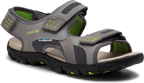 5cea59c5fbf2 Sandále GEOX - J S.Strada B J9224B 014CE C0666 D Grey Lime - Glami.sk