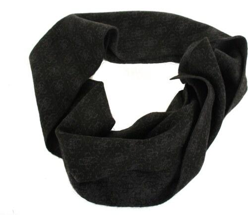 Guess dámská černo-šedá šála se vzorem - Glami.cz ce165a70cd