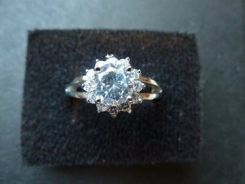 Prsten z chirurgické ocele - KYTKA