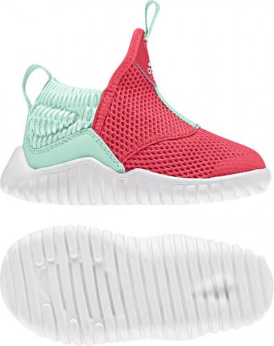 d827bb2f6aa4 Detské fitness topánky adidas Performance RapidaZen I (Červená   Svetlo  zelená   Biela)