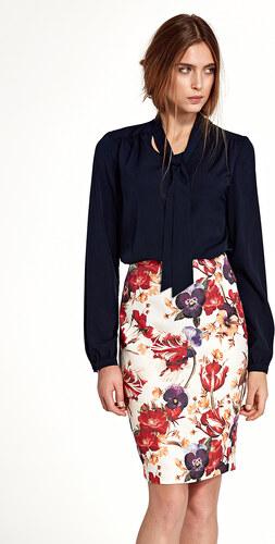 Nife Vícebarevná květovaná sukně SP39 - Glami.cz c4a6c07be9