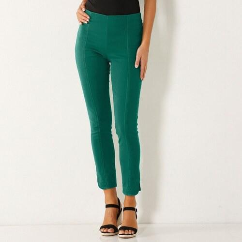 233c7d28189d Blancheporte 7 8 ultra strečové nohavice zelená - Glami.sk