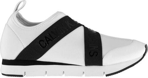 52ebfe402d1 Dámské boty Calvin Klein Tonia Bílé - Glami.cz