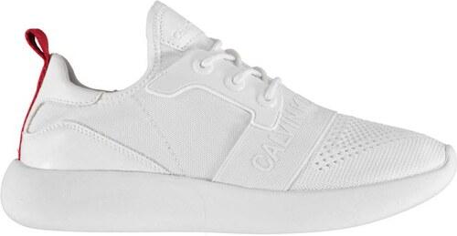 Dámské boty Calvin Klein Meryl Knit Bílé - Glami.cz dc5741c37f