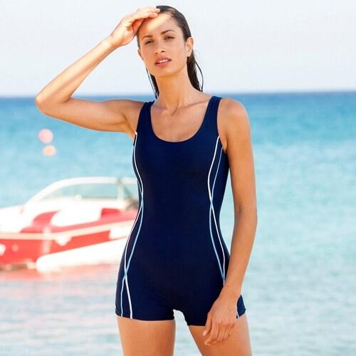 3643a005a Blancheporte Jednodielne plavky s nohavičkami nám.modrá - Glami.sk