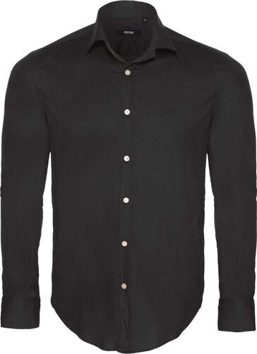 7ad18dfabe45 Čierna elegantná košeľa od Hugo Boss - Glami.sk