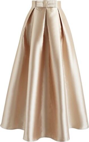 dccc27ca040 Chicwish Maxi sukně Zlatava