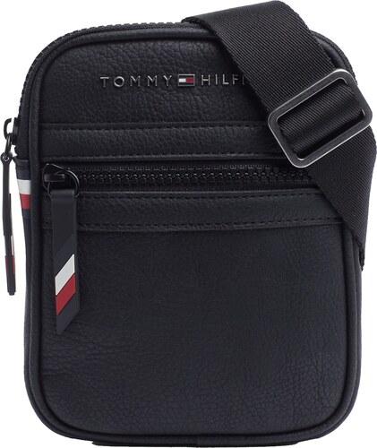 919fc3f0c0 Tommy Hilfiger fekete crossbody unisex táska Essential Compact Crossover  Black
