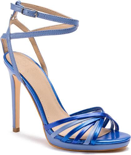 6f3e52b2d092 Sandále GUESS - Tonya FL6TNY LEA03 BLUE - Glami.sk