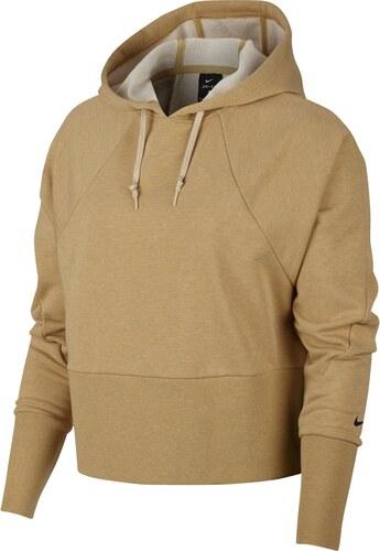 b119395fa68 Nike W Studio Hoodie Versa béžová XS - Glami.cz