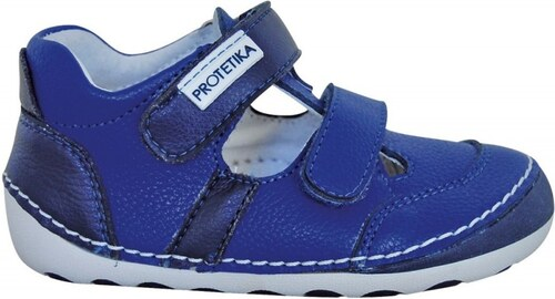 2d7be55f1223 Barefoot kožená obuv PROTETIKA FLIP navy - Glami.sk