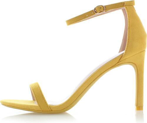 8f6e6e8f2ecb Ideal Žlté sandále Robbie - Glami.sk