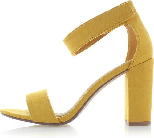 c1cf21ddbaaa Ideal Žlté sandále Mariett - Glami.sk