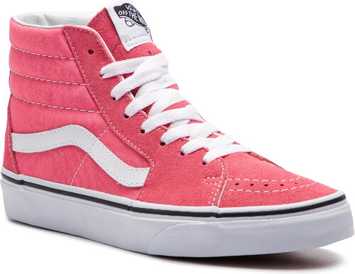 94b50774534ec Sneakersy VANS - Sk8-Hi VN0A38GEGY71 Strawberry Pink/Truewhite ...