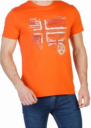 5316a195fc90 Pánske módne tričko Napapijri - Glami.sk
