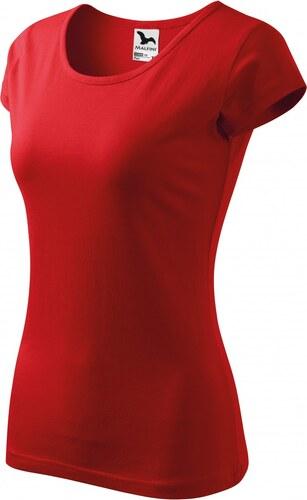 05e835f20e5b ČistéOblečenie.sk Jednofarebné Dámske tričko s veľmi krátkym rukávom ...