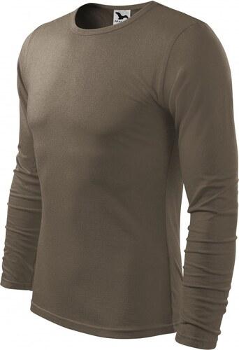 a9b788310863 -43% ČistéOblečenie.sk Jednofarebné Pánske tričko s dlhým rukávom