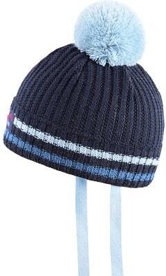 23b68702d K A M A spol. s r.o. Detská pletená merino čiapka KAMA B74 Tmavo modrá  Velikost oblečení XXS
