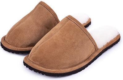 bf2dadbd1305 Vlnka manufacture s.r.o. Pánské pantofle Tom s ovčí vlnou Velikost obuv  dospělé 41