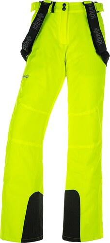 f2d7692511cc Dámske zimné lyžiarske nohavice KILPI ELARE-W Žltá 19 - Glami.sk