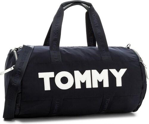 80bc12e42c Tommy Hilfiger tmavo modrá športová taška - Glami.sk