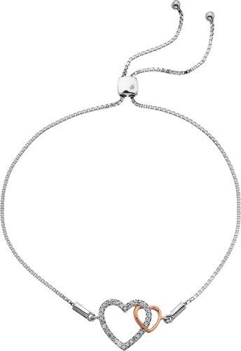 4073c970c Stříbrný náramek Hot Diamonds Flora RG DL590Stříbrný náramek Hot Diamonds  Flora RG DL590
