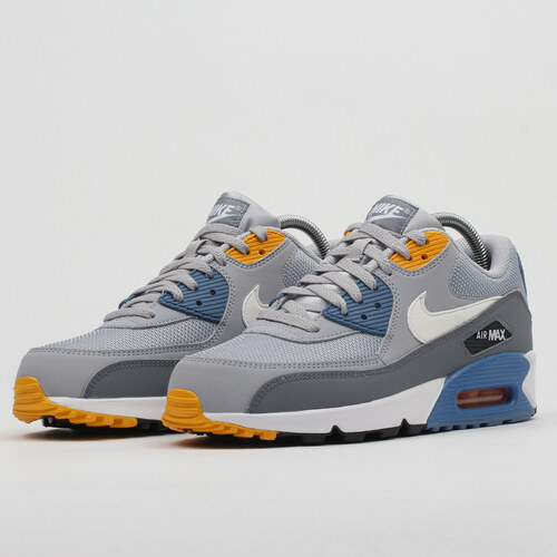wholesale dealer 21b06 73e5b Nike Air Max 90 Essential wolf grey   white - indigo storm