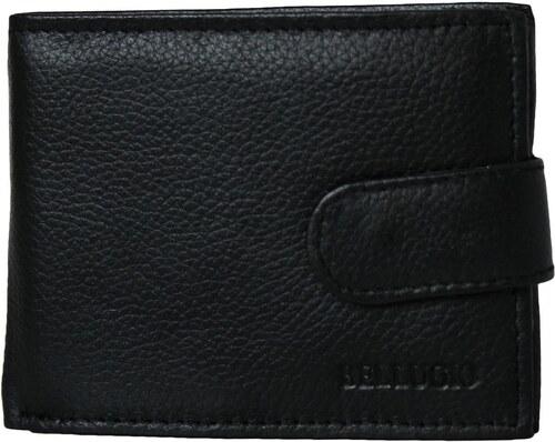 a8b479e7e Bellugio Pánska peňaženka z kože ZM-71-035 - čierna ZM-71-035 ...