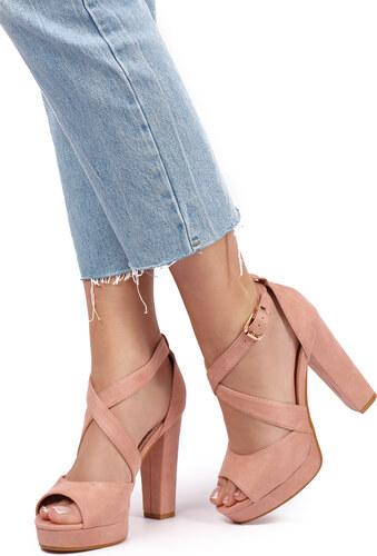 b01831c70f67 Mulanka Ružové sandále Hannah - Glami.sk