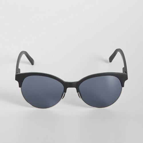 732bbb324 Sinsay - Slnečné okuliare Clubmaster - Čierna - Glami.sk