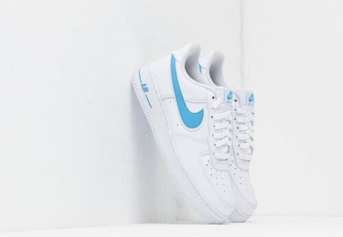 uk availability f6510 32514 Nové Nike Air Force 1  07 3 White  University Blue